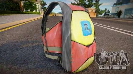 Remastered parachute para GTA San Andreas