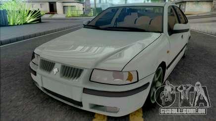 Ikco Samand LX White para GTA San Andreas