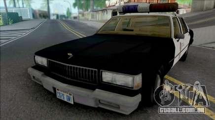 Chevrolet Caprice 1989 LAPD para GTA San Andreas