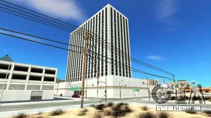 Quarto de hotel peregrino para GTA San Andreas