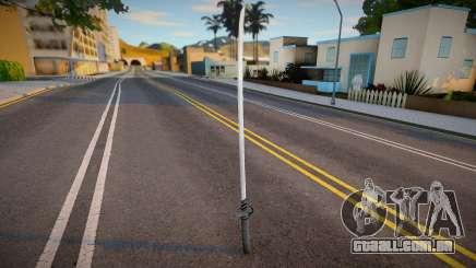 New Katana (good model) para GTA San Andreas