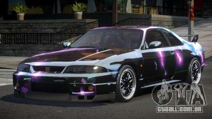Nissan Skyline R33 PS-I S7 para GTA 4