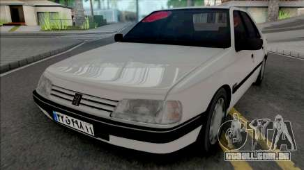 Peugeot 405 GLX (Open Trunk) para GTA San Andreas