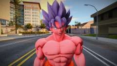 Goku Ssjblue Kiokien X20 para GTA San Andreas