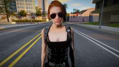 Jill Valentine (from RE Resistance) para GTA San Andreas