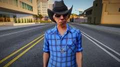 New Cwmofr Casual V1 Don Gilipollas Outfit Cou 2 para GTA San Andreas