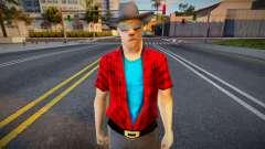 Handsome Blonde Cowboy para GTA San Andreas