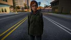 Ellie Williams (from TLOU 2) para GTA San Andreas