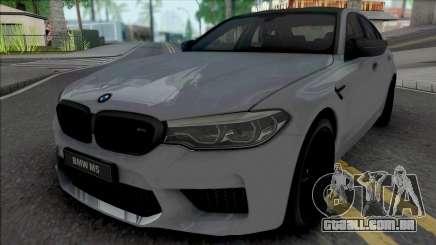 BMW M5 Competition 2019 [HQ] para GTA San Andreas
