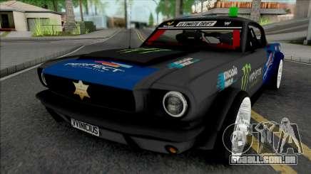 Ford Mustang Sheriff Barion para GTA San Andreas