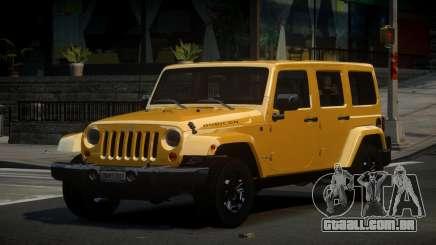 Jeep Wrangler US para GTA 4