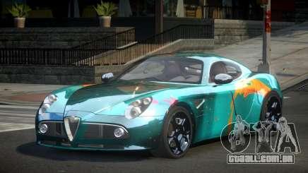 Alfa Romeo 8C Qz S7 para GTA 4