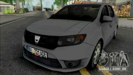 Dacia Logan Mk2 2013 para GTA San Andreas