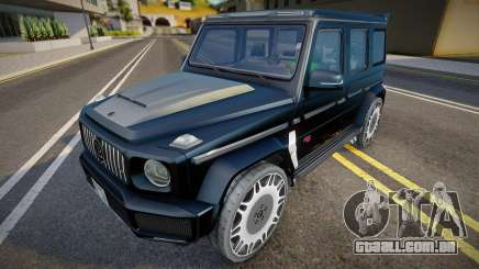 Mercedes-Benz G63 (Brabus) para GTA San Andreas