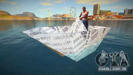 Paper Boat para GTA San Andreas