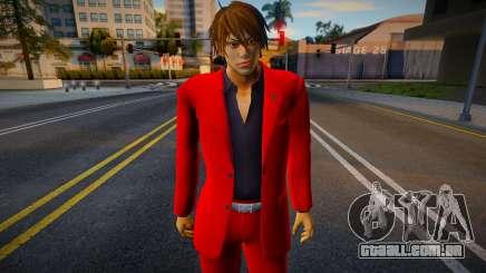 Shin Casual Tekken (Red) para GTA San Andreas