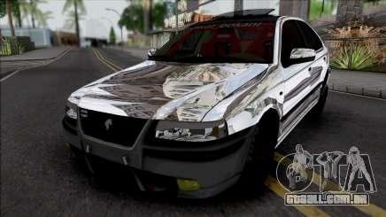 Ikco Samand Turbo para GTA San Andreas