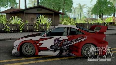 Acura Integra Type R Vortex (NFS Underground) para GTA San Andreas
