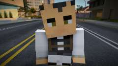 Medic - Half-Life 2 from Minecraft 7 para GTA San Andreas