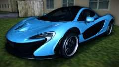 McLaren P1 2013 para GTA Vice City