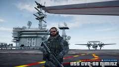 USS CVN-68 Nimitz (New Version) para GTA 4