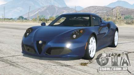 Alfa Romeo 4C (960) 2014〡add-on para GTA 5
