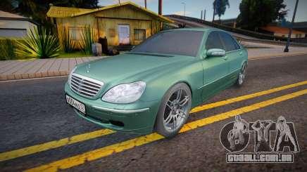 Mercedes-Benz W220 S600 (Rus Plate) para GTA San Andreas