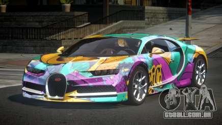Bugatti Chiron U-Style S7 para GTA 4