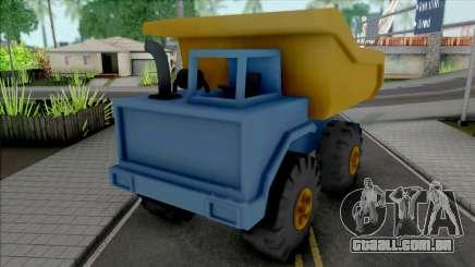 Toy Truck para GTA San Andreas