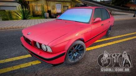 BMW M5 E34 Light tuning para GTA San Andreas