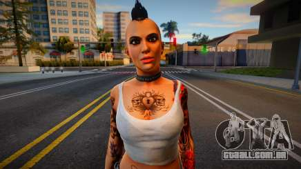 Angel from Dead Rising para GTA San Andreas
