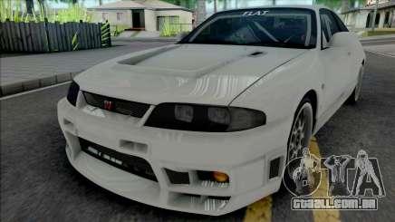 Nissan Skyline GT-R BCNR33 Wangan Midnight para GTA San Andreas