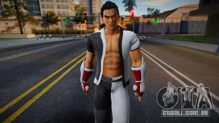 Jin from Tekken 4 para GTA San Andreas