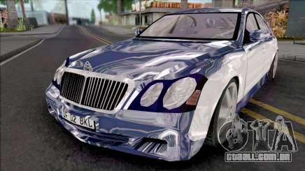 Maybach 57 para GTA San Andreas