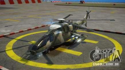 WZ-19 Attack Helicopter para GTA 4
