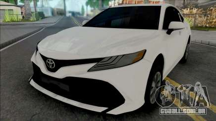 Toyota Camry 2018 Hubcaps para GTA San Andreas