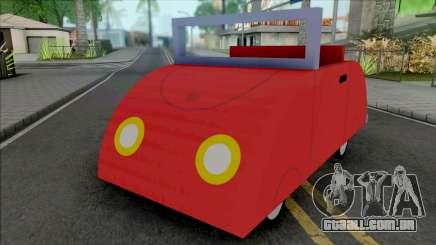 Peppa Pig Car para GTA San Andreas